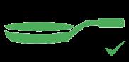 frigideira-verde